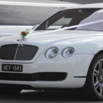 Melbourne Bentley Limousines wedding groom and bride special day