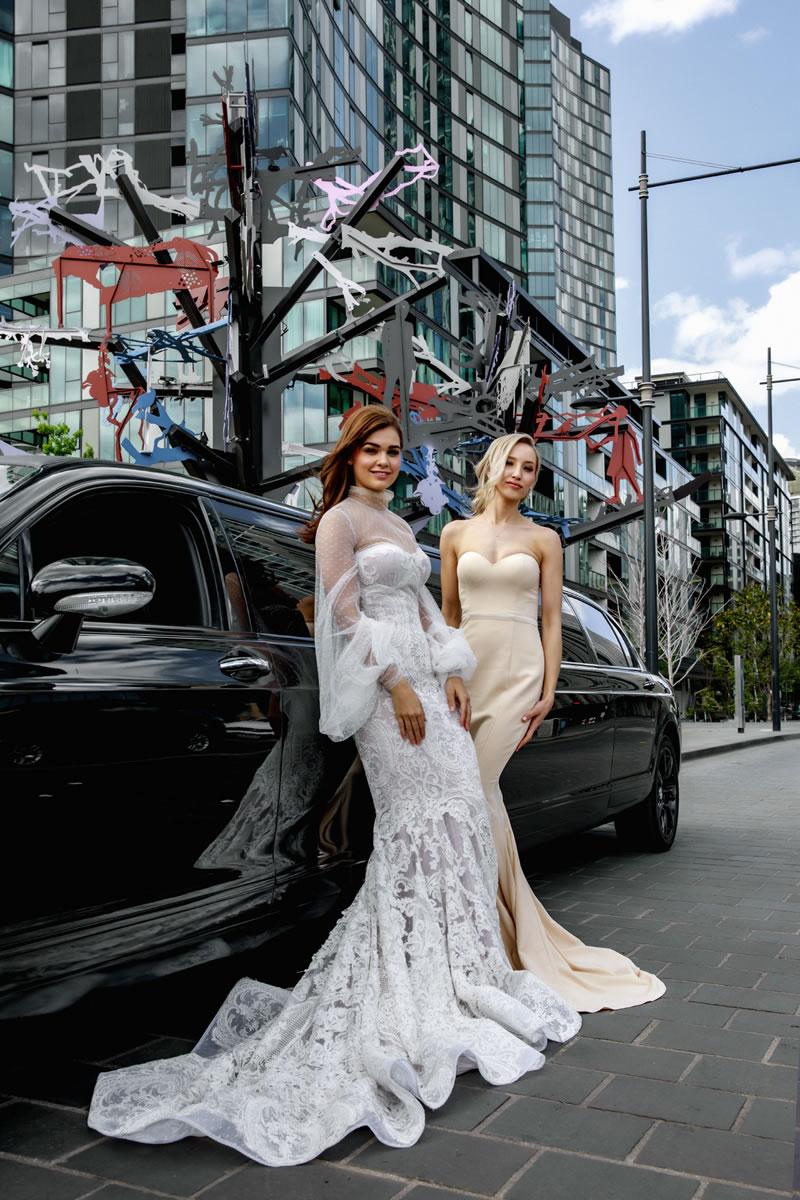 Bridal Wear and Bentley Backdrops