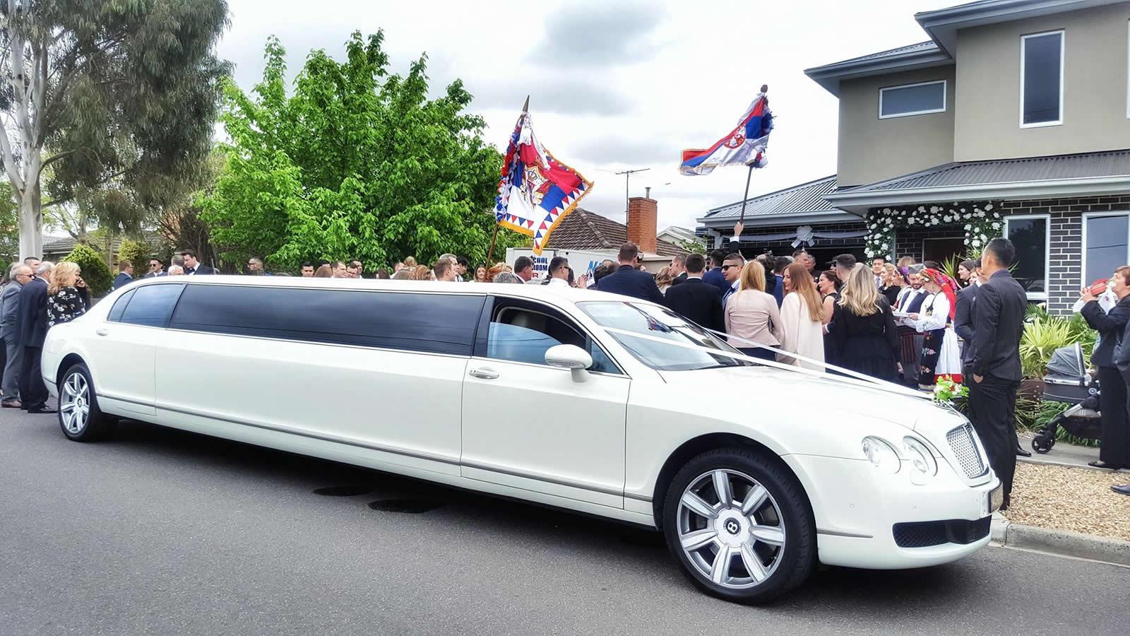 Wedding Celebrations and the Bentley